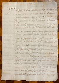 Contemporary manuscript copy of an order of Teodoro de Croix, commandant general of the Internal Provinces, Arispe, Sonora, June 23, 1780, clarifying article 10 of title 14 of regulations on the presidios regarding the rights of presidial representatives