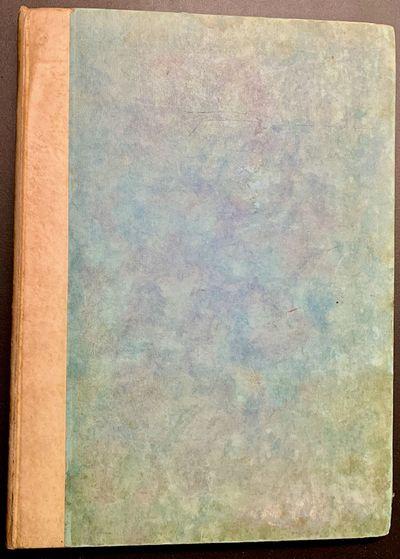 Waltham Saint Lawrence: Golden Cockerel Press, 1924. Boards. Parchment spine lettered in gilt, pale ...