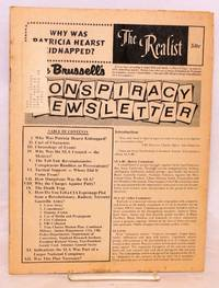 image of The Realist [no.98]; Why was Patricia Hearst kidnapped? Mae Brussell's conspiracy newsletter [complete Realist issue]