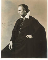 A BEAUTIFUL CLASSIC ORIGINAL PHOTOGRAPH of the great stage actor JOHN GIELGUD as HAMLET, SIGNED & DATED 1936 by the great actor who dominated the British stage for much of the century.