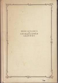 Seuraelaman Saannot Aakkosellinen Kasikirja [ Dictionary of Social Etiquette] SCARCE