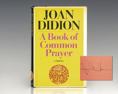New York: Simon & Schuster, 1977. First edition of Didion's fourth book. Octavo, original half cloth...