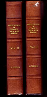 image of WILD SPORTS IN EUROPE, ASIA AND AFRICA. Vols I and II