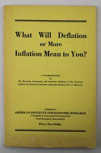 What Will Deflation or More Inflation Mean to You?