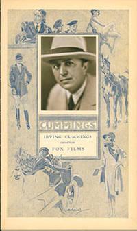 Portrait of Irving Cummings,  Director, Fox Films