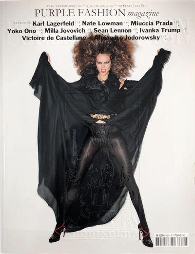 Paris: Purple Institute, 2009. Magazine in near fine condition.. First Edition. Tall Quarto. Fall / ...