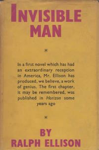 Invisible Man by ELLISON, Ralph - 1953