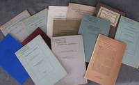 13 publications on bibliographical subjects, all but three inscribed by Cole to Anthony Gabler