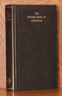 image of THE OXFORD BOOK OF APHORISMS