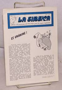 image of La Sirena [The Siren], noticias del programa del PNUMA para los mares regionales; numero 20, Mayo 1983