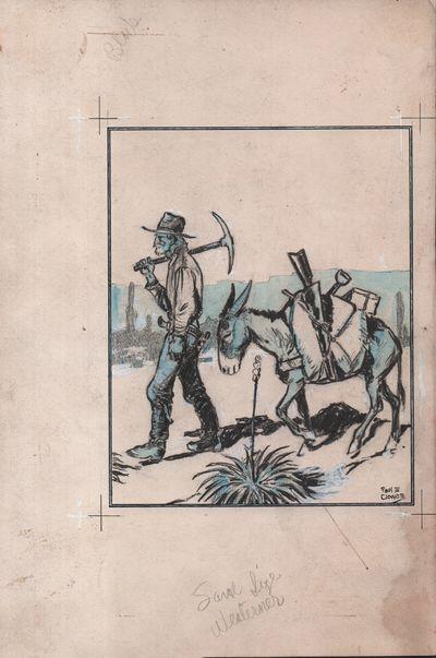 Six Original Illustrations for the...