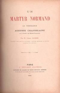 Un martyre normand. Le Vénérable Auguste Chapdelaine