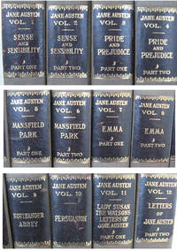 Novels and Letters of Jane Austen, The (12 Volume Set)