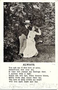 image of Romantic Humor Postcard-Mailed From Early, Iowa 1907