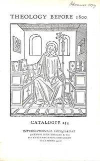 Catalogue 234/n.d.: Theology before 1800.