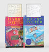 image of Harry Potter and the Philosopher's Stone; [together with] Harry Potter and the Chamber of Secrets.
