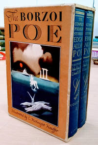 The Complete Poems and Stories of Edgar Allan Poe with Selections from His  Critical Writings:   (The Borzoi Poe, 2 Volumes in Slipcase) by  Edward H. (editor)  Arthur Hobson (editor) ; O'Neill - First Edition; Second Printing - 1951 - from Old Saratoga Books (SKU: 43108)