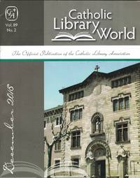 Catholic Library World, vol. 89, no. 2, December 2018