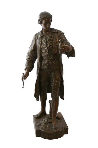 Bronze Sculpture, Signed