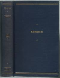 image of Jonathan Edwards. Representative Selections, with Introduction, Bibliography, and Notes