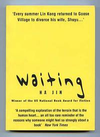 Waiting by  Ha JIN - Paperback - Signed First Edition - 2000 - from Between the Covers- Rare Books, Inc. ABAA and Biblio.com