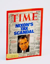 Time April 15 1974 Richard Nixon on Cover (Tax Scandal), Watergate/Impeachment Hearings, Patty Hearst, Pop Art, The Conversation/Francis Ford Coppola, The Sugarland Express/Steven Spielberg, Zen and the Art of Motorcycle Maintenance/Robert Persig