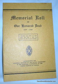 Memorial Roll of Our Honored Dead 1939-1945