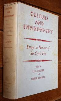 image of CULTURE AND ENVIRONMENT Essays In Honour Of Sir Cyril Fox