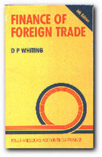 Finance of Foreign Trade