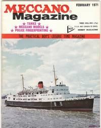 image of Meccano Magazine the Practical Boy's Leisure Time Magazine Vol. 56 No. 2