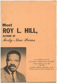 image of (Program): Meet Roy L. Hill, Author of Forty-Nine Poems at a Reception given by Atlantic Community College... Mays Landing, N.J.