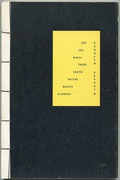 Santa Barbara: Unicorn Press, 1973. Softcover. Near Fine. First trade edition. Japanese-style string...