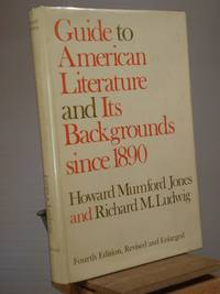 Guide to American Literature and Its Backgrounds Since 1890