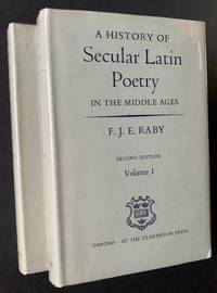A History of Secular Latin Poetry in the Middle Ages (2 Volumes)