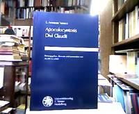 L. Annaeus Seneca, Apocolocyntosis divi Claudii. Hrsg., übers. und kommentiert von Allan A....