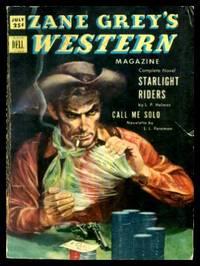 ZANE GREY'S WESTERN MAGAZINE - Volume 6, number 5 - July 1952