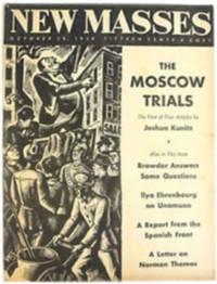 New Masses. October 20, 1936
