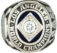 1959 L. A. Dodgers World Championship Ring
