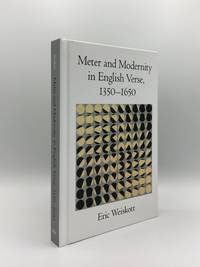 image of METER AND MODERNITY IN ENGLISH VERSE 1350-1650