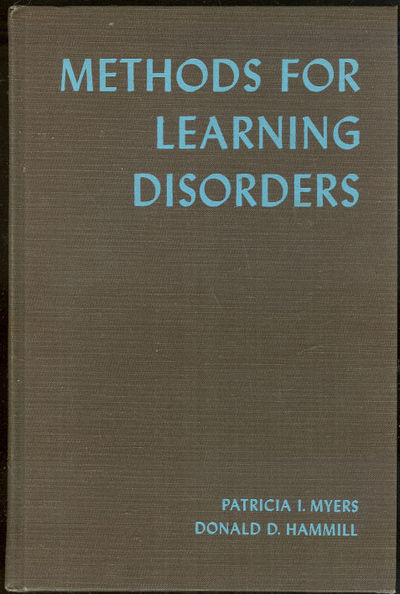 METHODS FOR LEARNING DISORDERS, Myers, Patricia