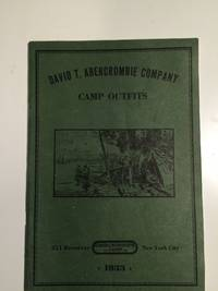 David T. Abercrombie Company Camp Outfits  1933