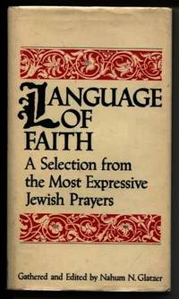 image of Language of Faith: a Selection From the Most Expressive Jewish Prayers