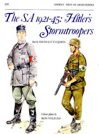 Men-At-Arms No.220: The SA 1921-45 - Hitler's Stormtroopers