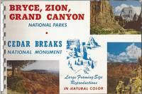 Bryce, Zion, Grand Canyon National Parks - Cedar Breaks National Monument. Large Framing Size Reproductions in Natural Color
