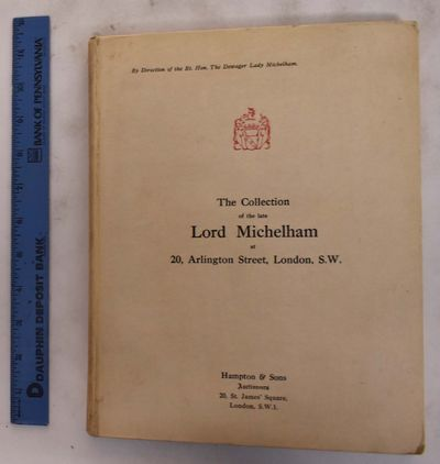 London, England: Hampton & Sons Auctioneers, 1926. Hardcover. VG. covers have scuffs & shelf-wear w/...
