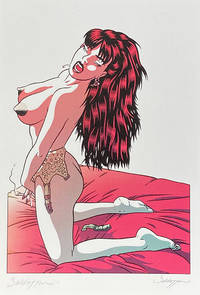 image of Pin-Up with Broken Suspenders - Limited Edition Print (Signed)