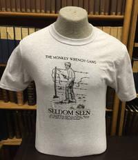 Seldom Seen Smith T-Shirt (Fence) - Ash (XXL); The Monkey Wrench Gang T-Shirt Series
