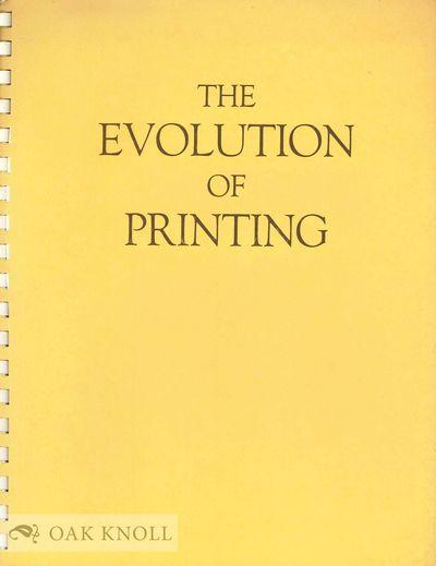 New Britain, CT: Central Connecticut State College, 1965. stiff paper wrappers, spiral bound. Printi...