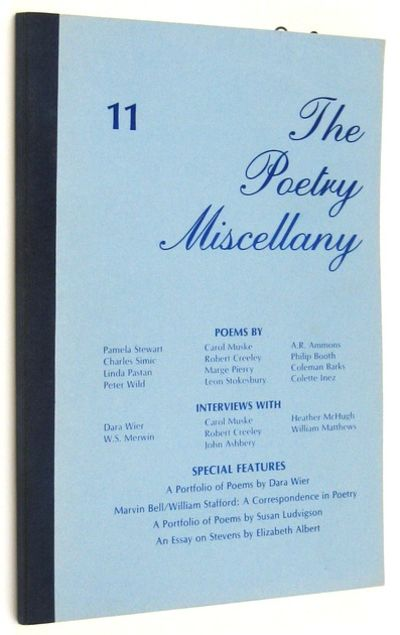 Chattanooga: University of Tennessee. 1981. Issue No. 11, featuring a portfolio of poems by Wier, al...