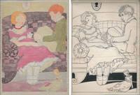 Original Book Illustration Art